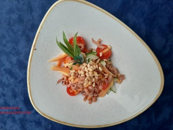 Salade fruitées aux goût de papaye