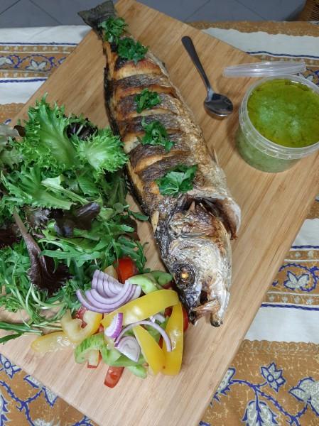Dorade royal filet (met groenten)
