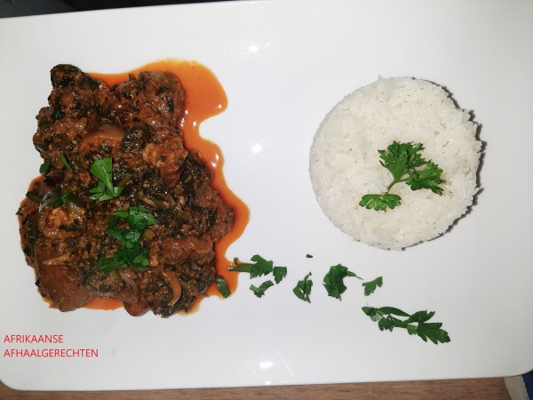 Rijst met Gboma